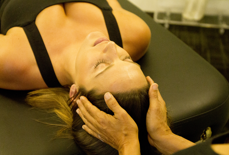 craniosacral therapy at centripetal force studio