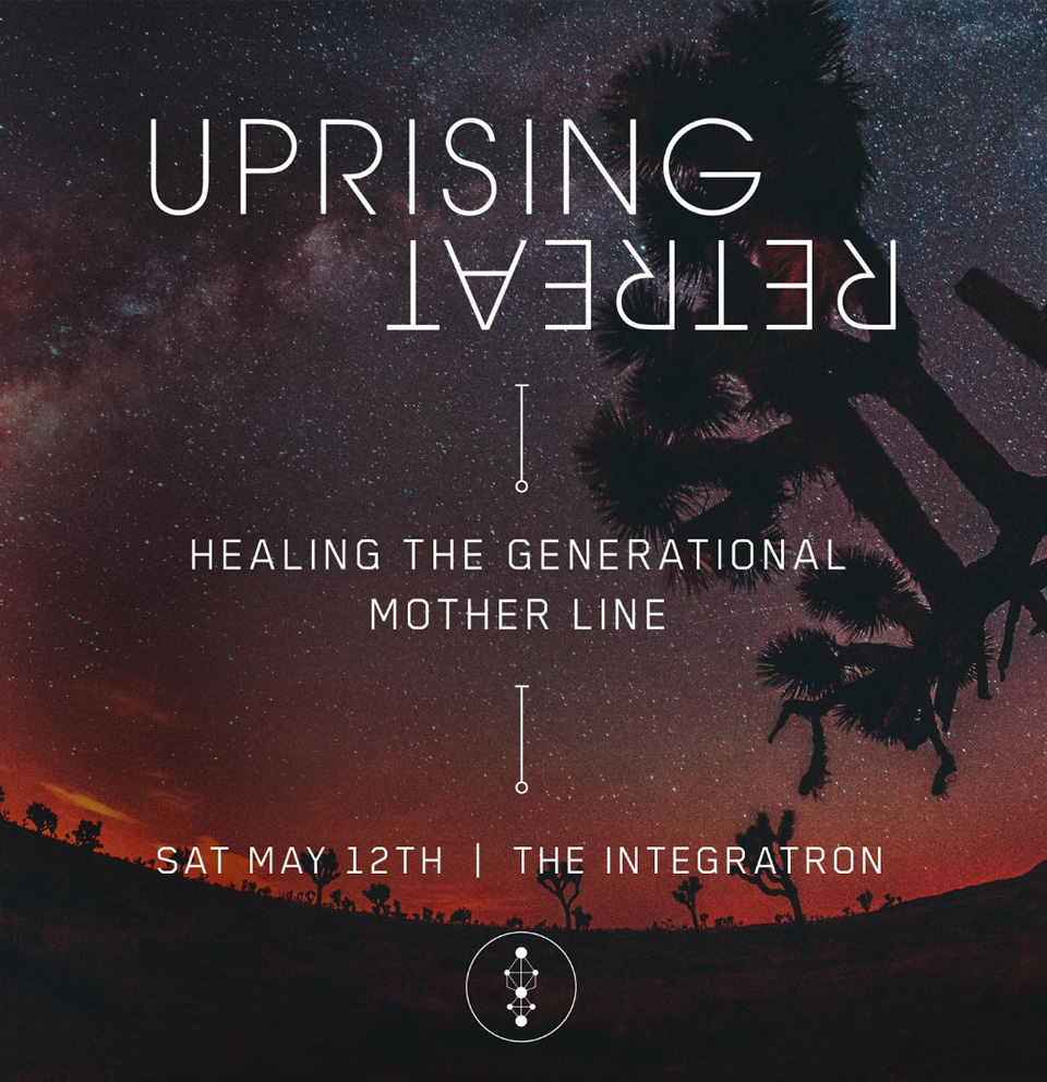 SHOPUPRISINGRETREAT  Join us at The Integratron this Mother's Day weekend as we heal the generational mother line and repair the feminine field. Let's realign suppressed patterns, deepen bonds, build trust, support and help each other rise!    Go